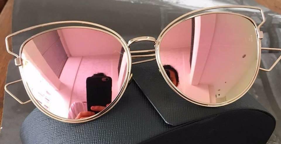 Óculos De Sol Dior Sideral Rose - R  179,90 em Mercado Livre a1d7816cf58e