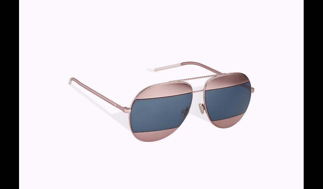Óculos De Sol Dior Split Rosê - R  679,00 em Mercado Livre b7fce12747