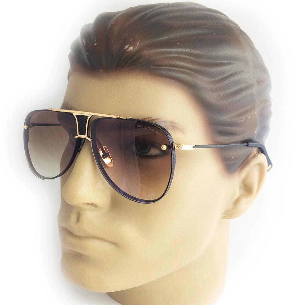 6902b84a3e437 óculos sol dita decade two dourado c lente degradê masculino. Carregando  zoom.