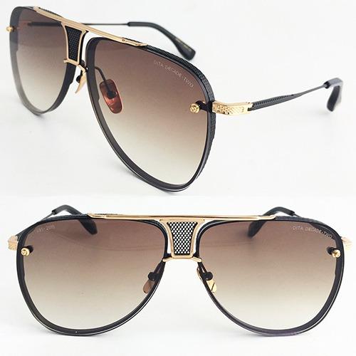 ba75abf6360f0 Óculos Sol Dita Decade Two Dourado C Lente Degradê Unissex - R  528 ...