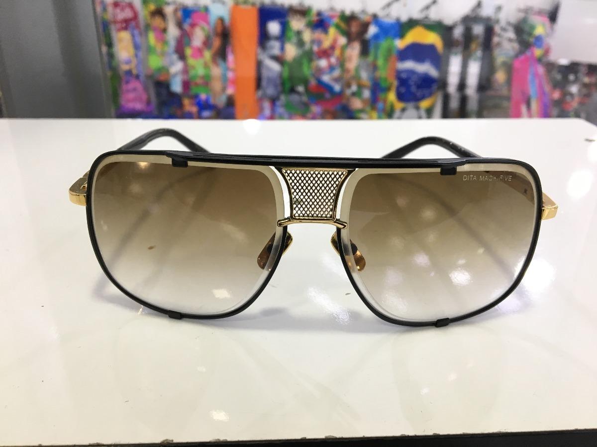 87e49c788041a óculos sol dita decade two dourado c lente degradê unissex. Carregando zoom.