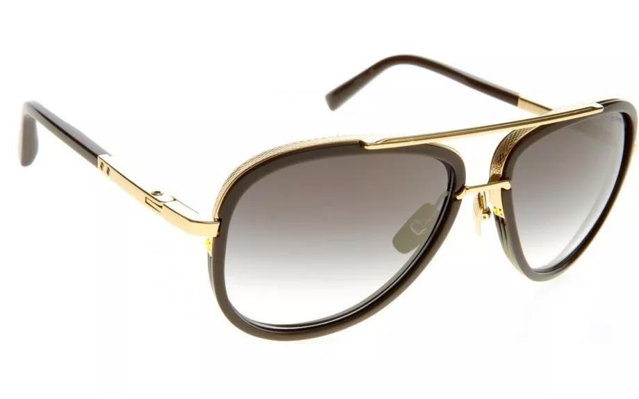 847d134139fdf óculos sol dita decade two dourado lente preta degrade. Carregando zoom.