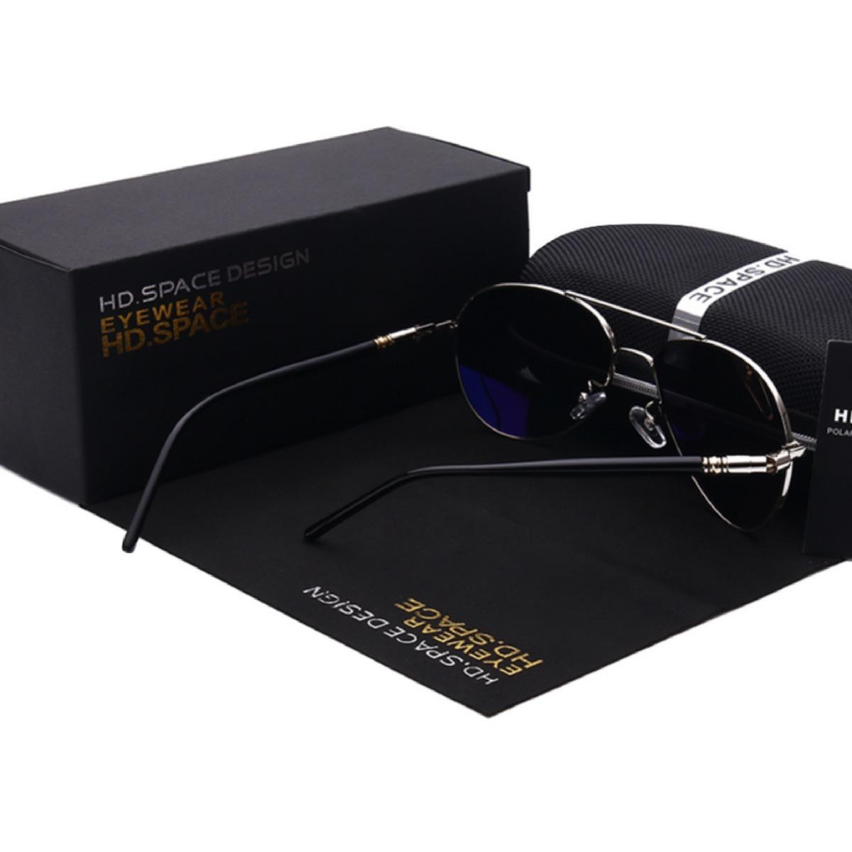 3fb53ac20 Óculos De Sol Masculino Casual Dos Homens Pilotos - R$ 201,84 em ...