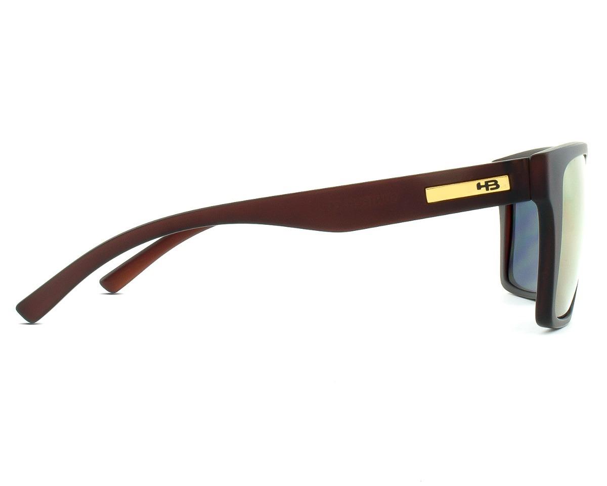 d2d7e083f oculos sol espelhado hb floyd marrom fosco original solar. Carregando zoom.