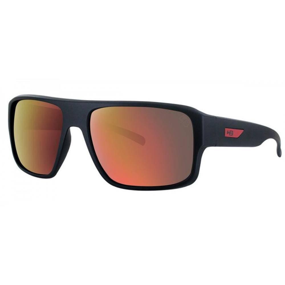 oculos sol espelhado hb redback preto fosco original solar. Carregando zoom. 18e75ed013