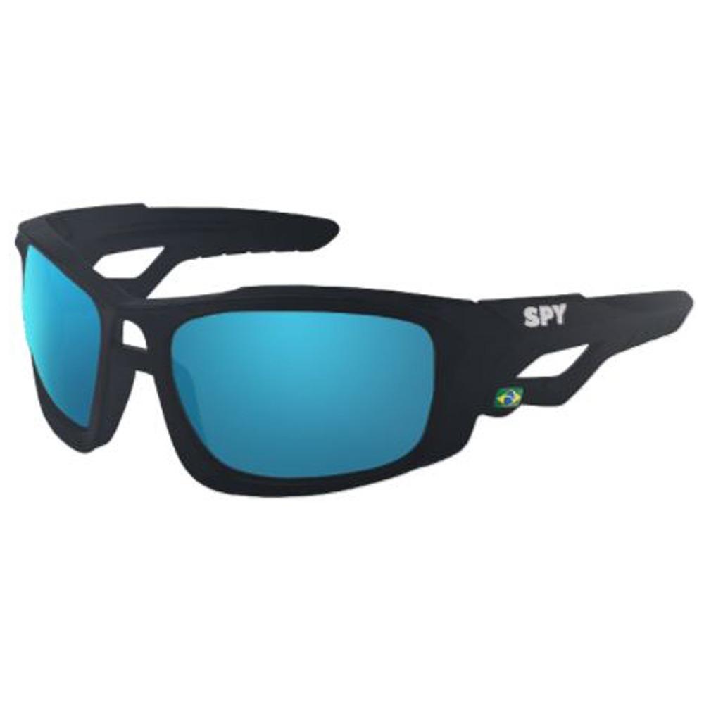 7dd8cd993bc1f oculos sol espelhado spy original mana 63 preto fosco azul. Carregando zoom.