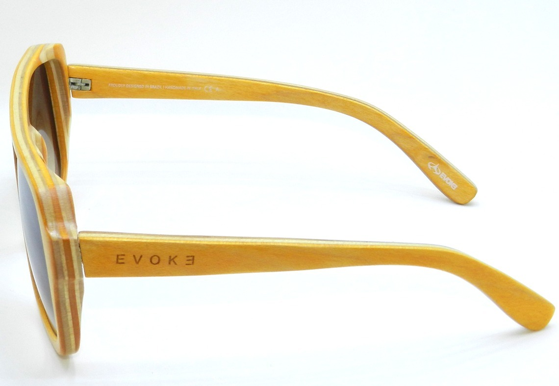 14e76215084bf Óculos De Sol Evoke Maple Collection - Yellow brown Original - R ...