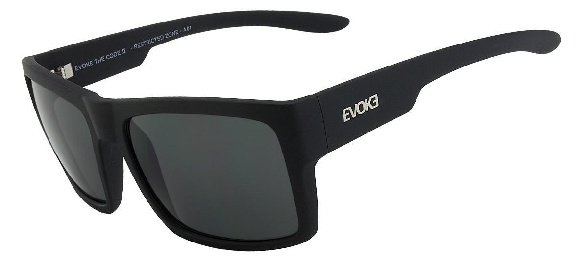 f1e22670712fd Óculos De Sol Evoke The Code Ii A01 Black Matte Gray 16 - R  445,00 ...