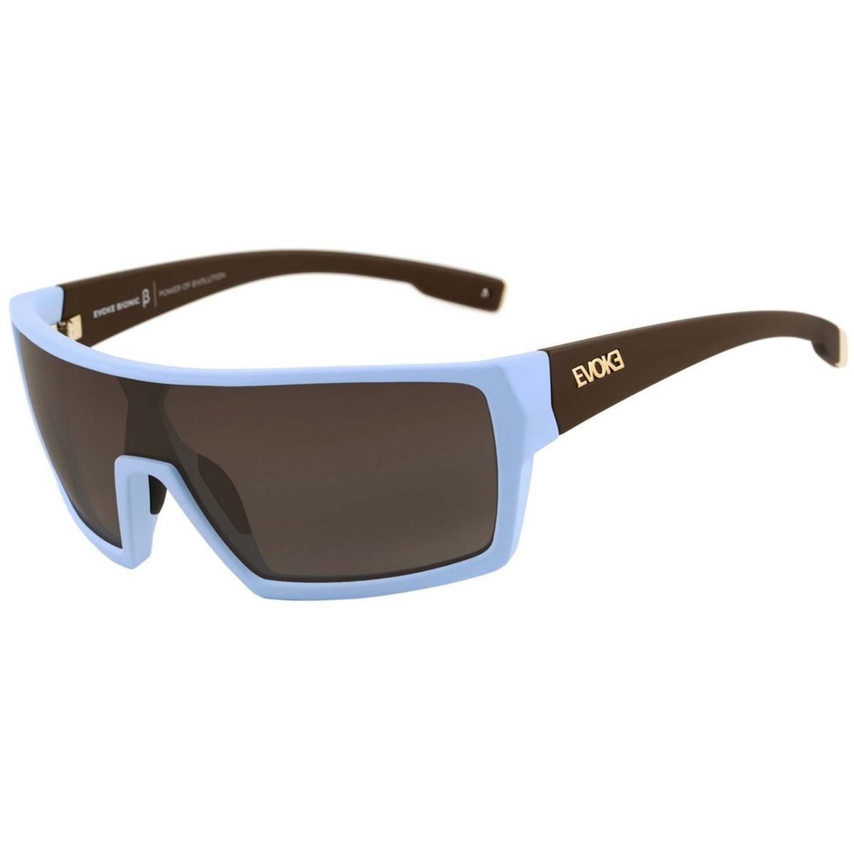 c870c8fb34d33 oculos sol evoke bionic beta azul temple marrom gold degrade. Carregando  zoom.