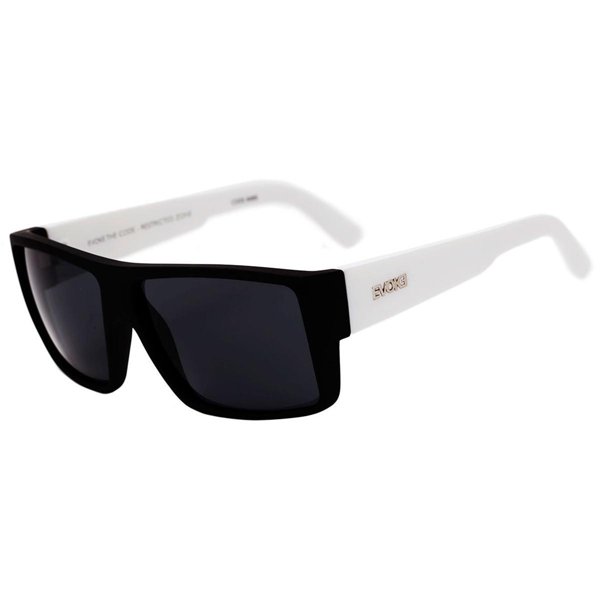 oculos sol evoke the code preto fosco branco original solar. Carregando  zoom. ced71c3ef1