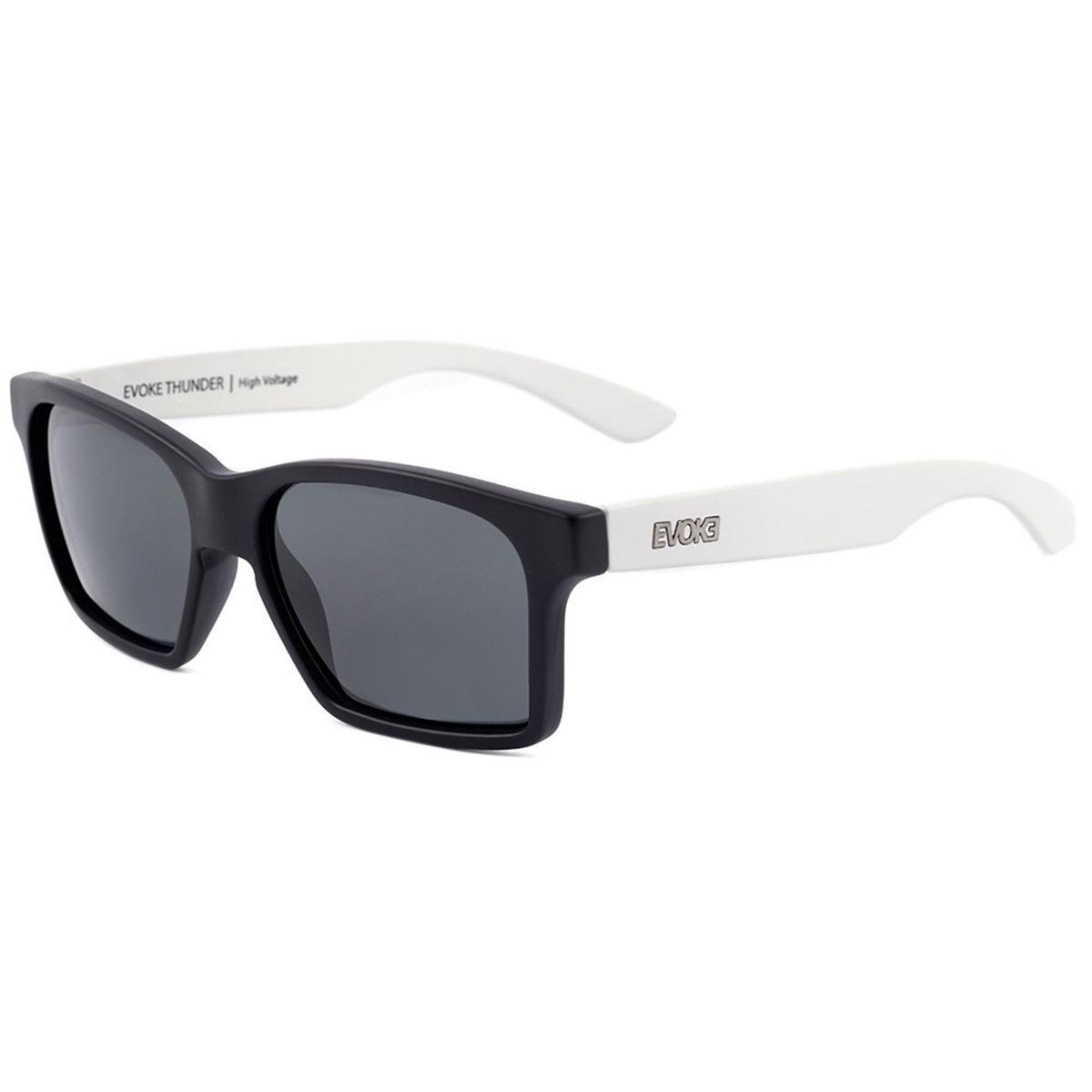 2aa069a22e8eb oculos sol evoke thunder ab11 preto fosco branco original. Carregando zoom.