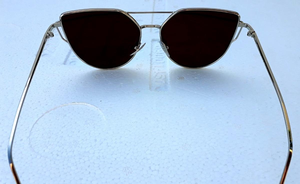 óculos sol feminino clássico em 2 cores proteção uva e uvb. Carregando zoom. 7c6f21273c