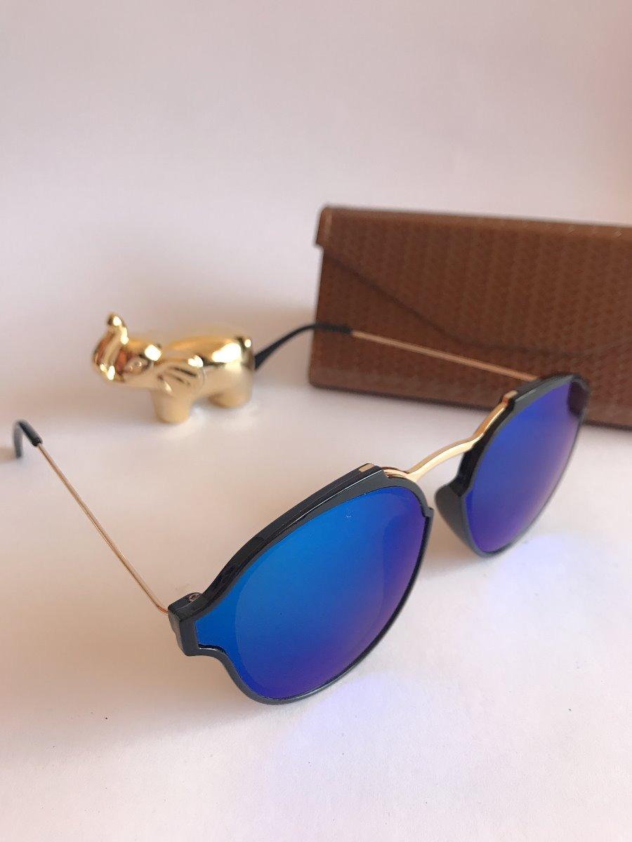 d8d51686c4a68 Óculos Sol Feminino Espelhado Moda 2019 - R  32,00 em Mercado Livre