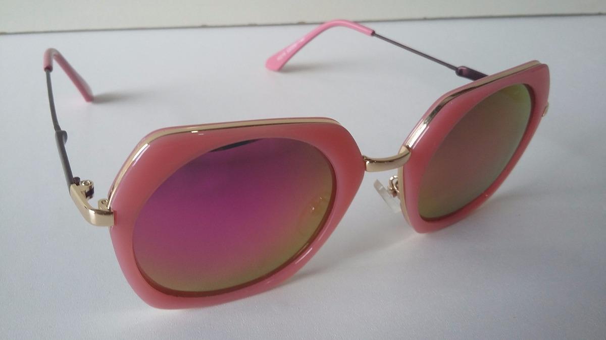 óculos sol feminino espelhado rose envio imediato - barato . Carregando  zoom. befdd28daa