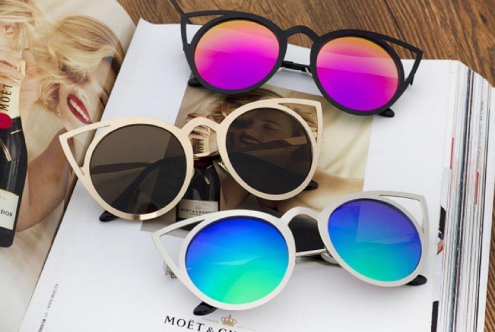 d4763b76435f7 oculos sol feminino gatinho cat eye rosé azul quay rosa. Carregando zoom.