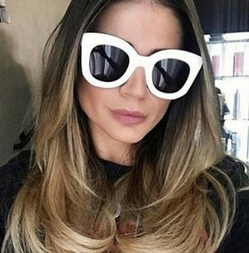 91bd51f8d Óculos De Sol Feminino Gatinho Um Luxo! Importado - Óculos no ...