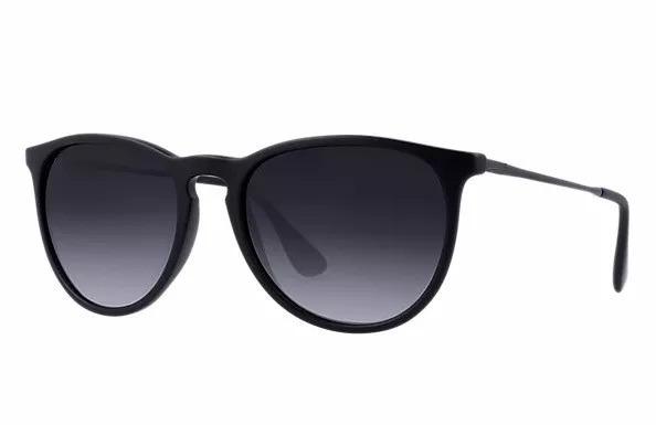 79165ddf06ec5 Óculos Sol Feminino Masculino Preto Fosco Redondo Sem Veludo - R  24 ...