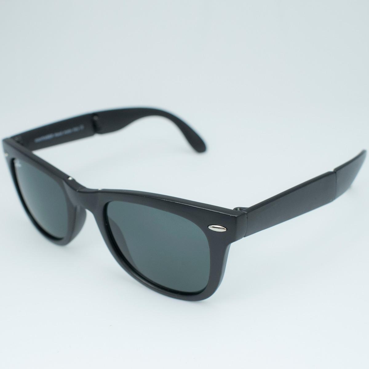 534336cc8 Óculos Sol Feminino Masculino Preto Fosco Redondo Sem Veludo - R$ 45 ...