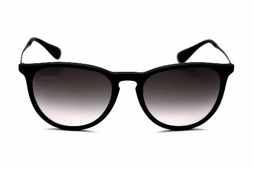 58663c0f5d996 Óculos Sol Feminino Masculino Preto Fosco Redondo Sem Veludo - R  29 ...