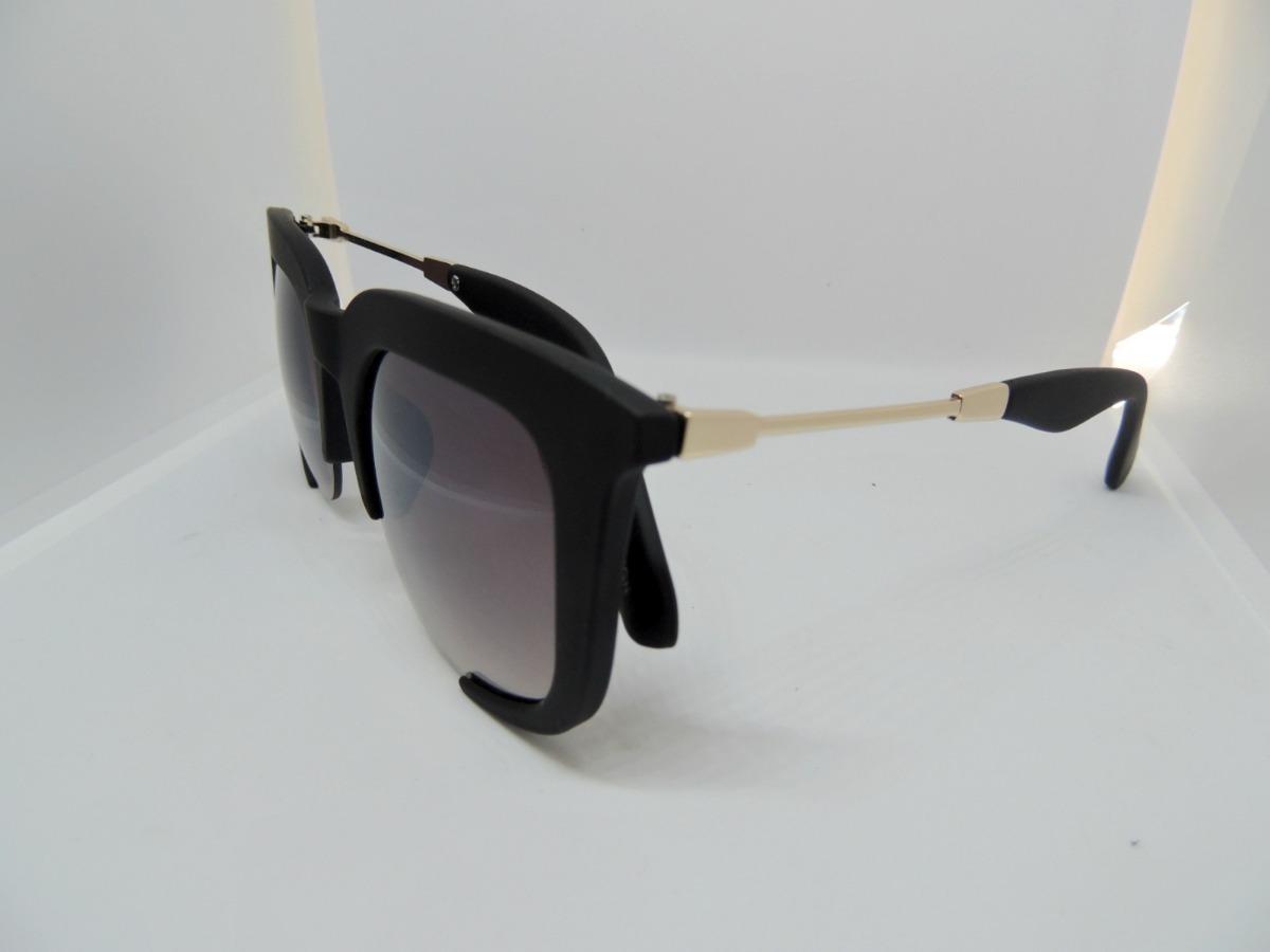 8f3e09bc2 óculos sol feminino rasoir aberto preto grande uv400 moda. Carregando zoom.