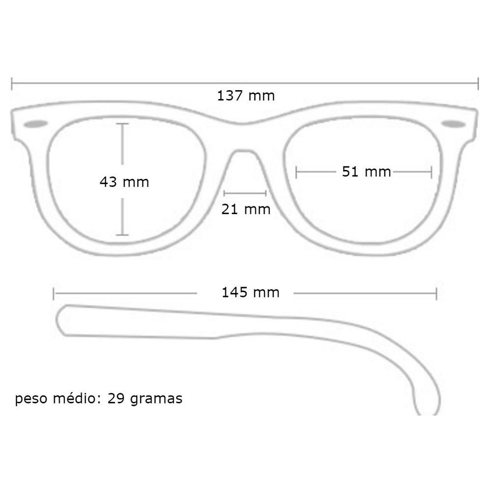 Óculos Sol Feminino Ray Ban 3548 Hexa Original - R  417,49 em ... d5c1cd9ade