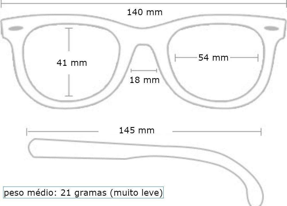 Óculos Sol Feminino Ray Ban Chris 4187 - R  320,00 em Mercado Livre 51fc63c64a