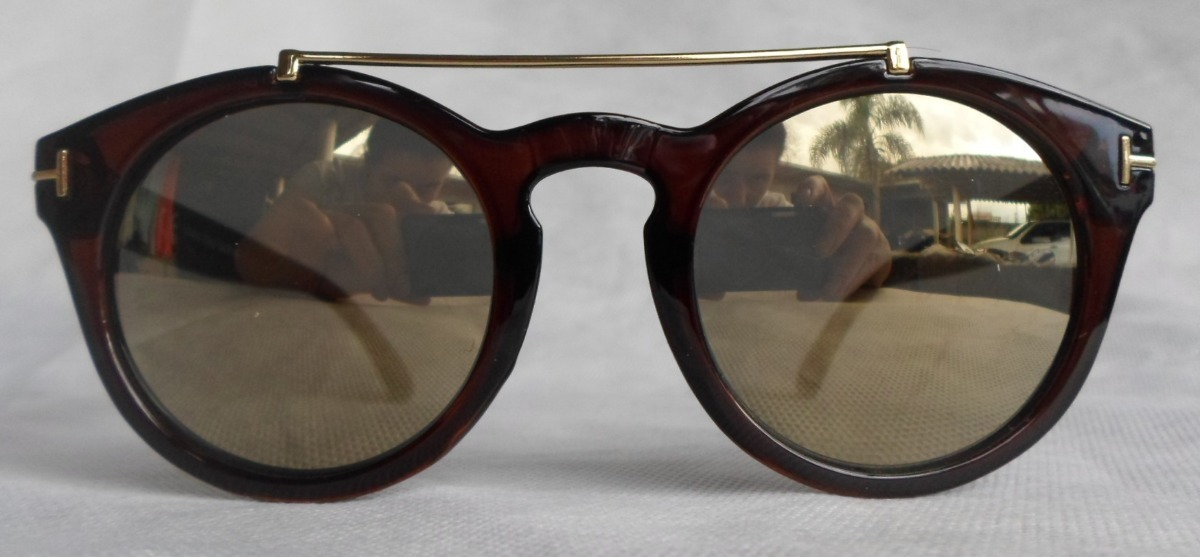 3e619858de6eb oculos sol feminino redondo retro yd1606 espelhado vintage. Carregando zoom.