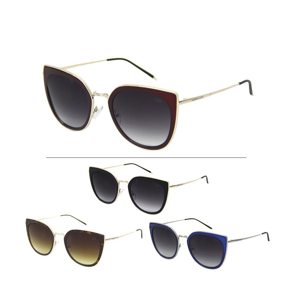 f87affe98 Óculos Sol Feminino Sabrina Sato 7004 - R$ 179,66 em Mercado Livre