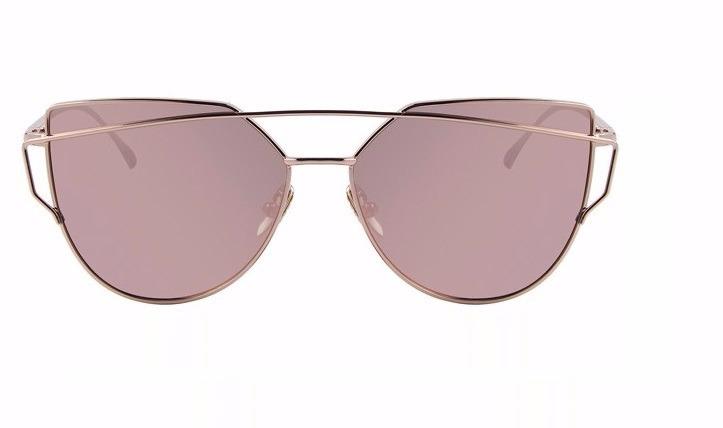 f5357206e Oculos Sol Feminino Starlight Espelhado Gato Cat Eye Rosa - R$ 99,90 ...