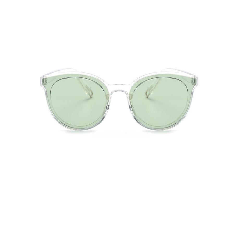 5b302476e0d82 óculos sol feminino transparente estilo retro verde. Carregando zoom.