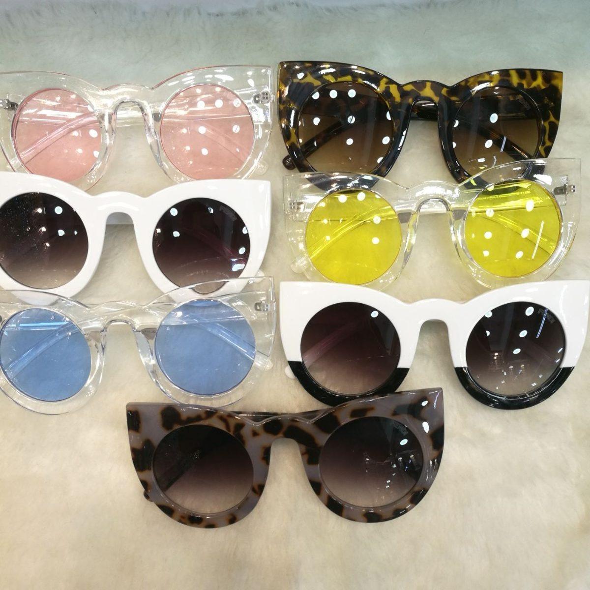 Óculos De Sol Gatinho Fendi Grande Frete + Brinde - R  120,00 em ... d8feebe255