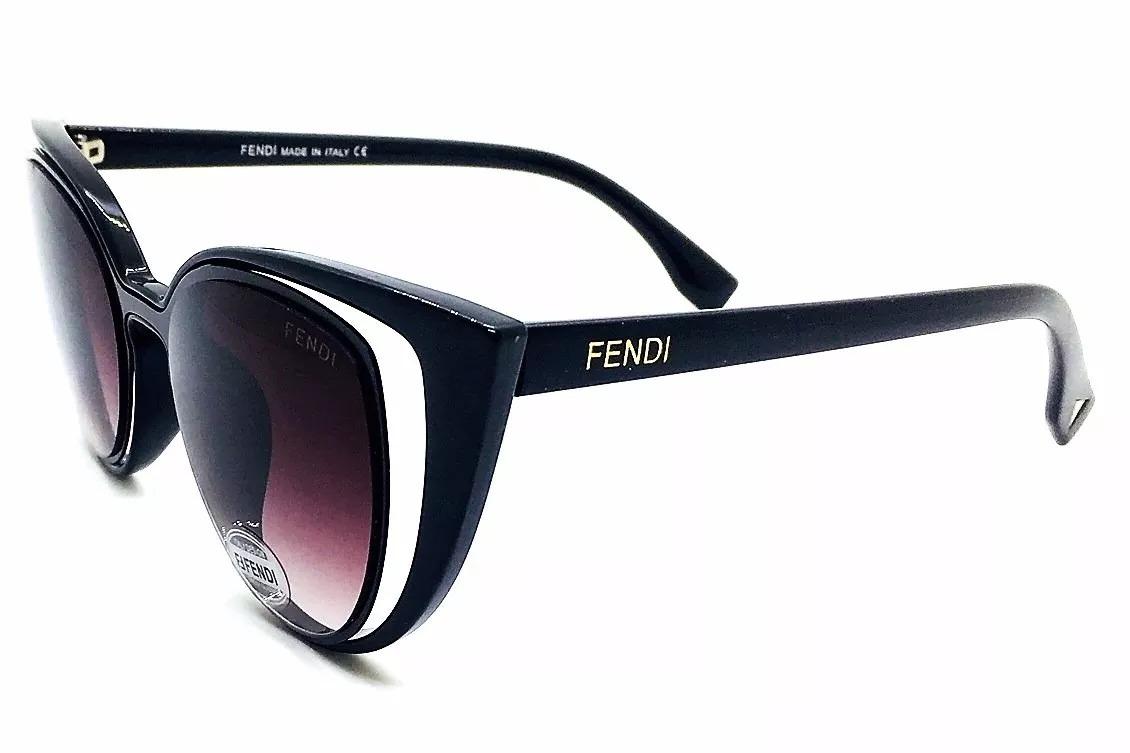 Oculos De Sol Fendi Paradeyes Cat Preto Luxo - R  59,99 em Mercado Livre 950c7d351d