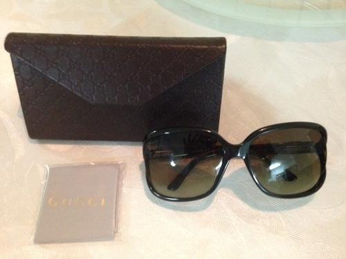 Óculos De Sol Gucci Preto E Lentes Verdes - Mod 3646 - R  599,00 em ... 5202565076