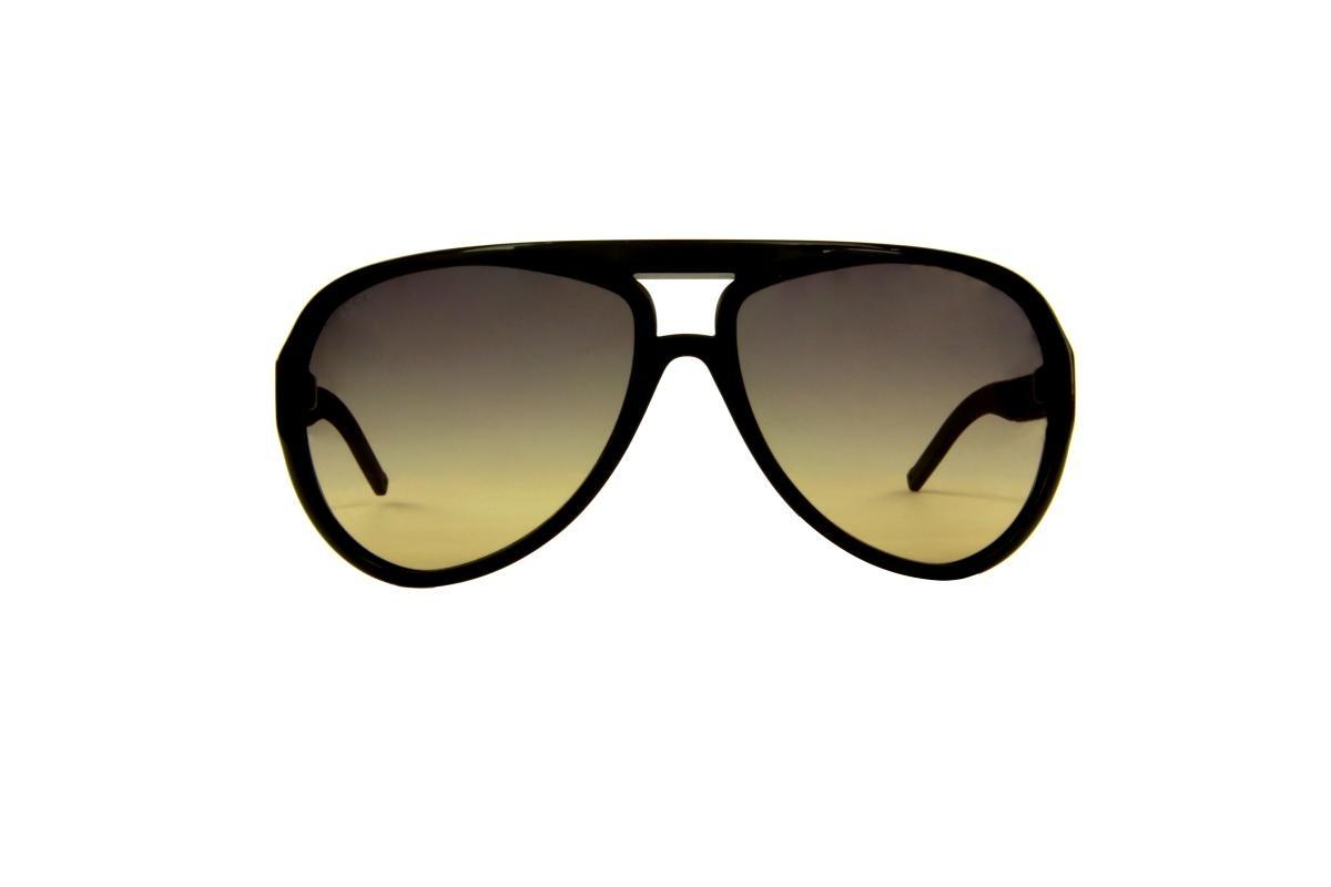 93fdb0e5b Óculos De Sol Gucci 100% Proteção U.v. Ópticas Melani Marrom - R$ 573,00 em  Mercado Livre
