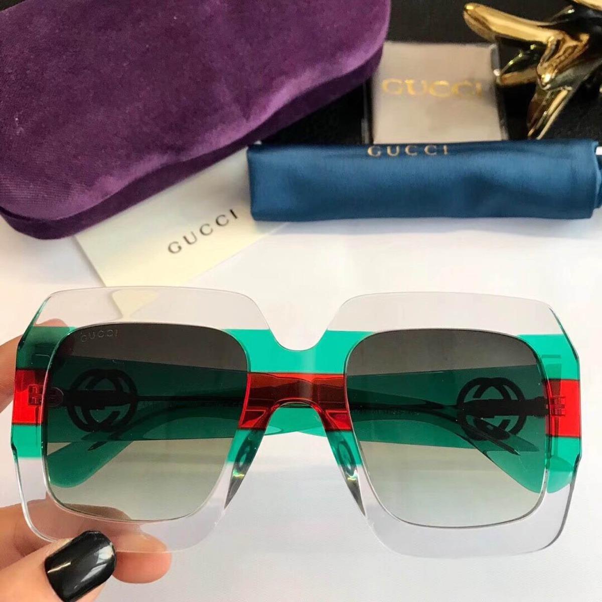 ac304888465a3 óculos sol gucci quadrado transparente acetato frete grátis. Carregando  zoom.