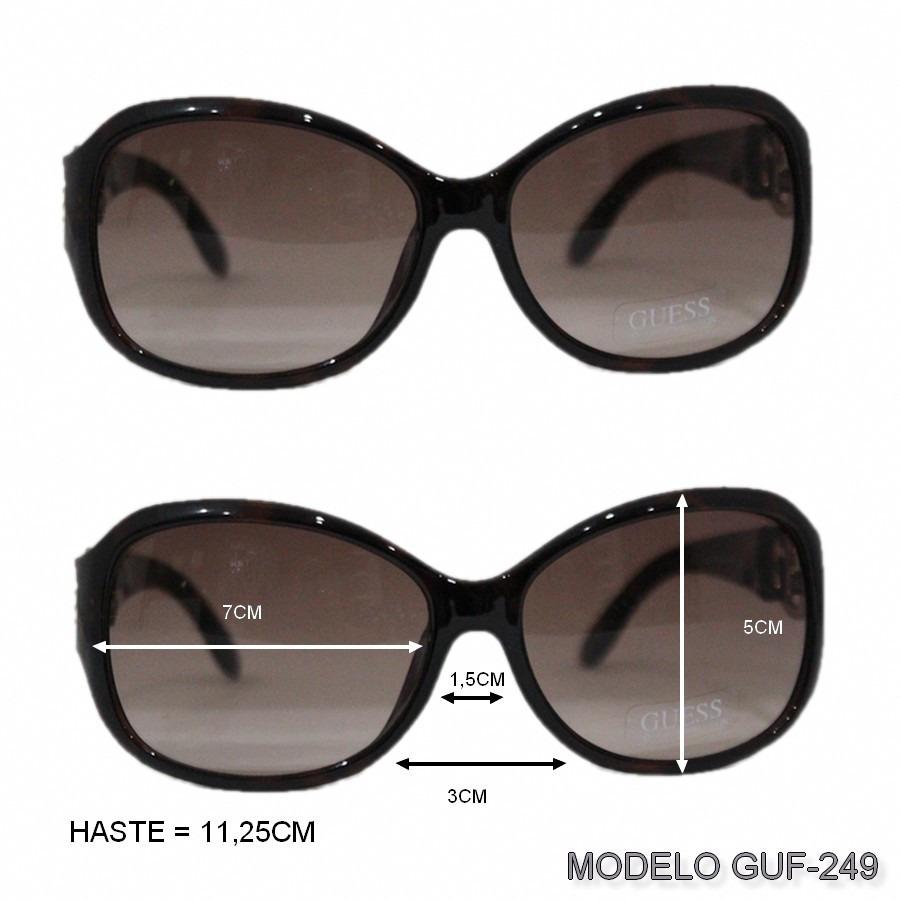 Oculos De Sol Guess Feminino Original Importado Com Caixa - R  269 ... ca765886c6