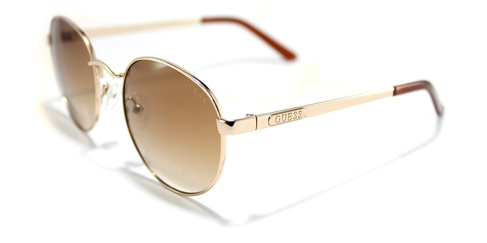 62eb765ed055f Óculos De Sol Feminino Redondo Guess 7363 - R  249