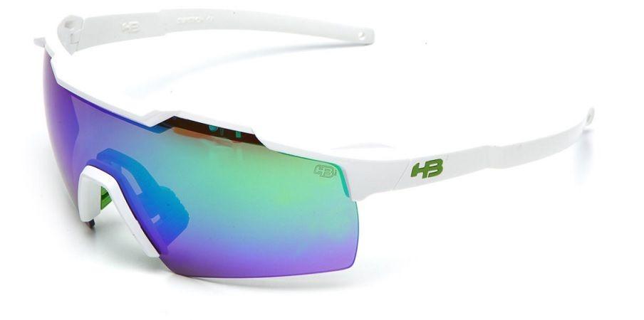 be68756a2 oculos sol hb shield branco lente verde espelhada 9013711083. Carregando  zoom.