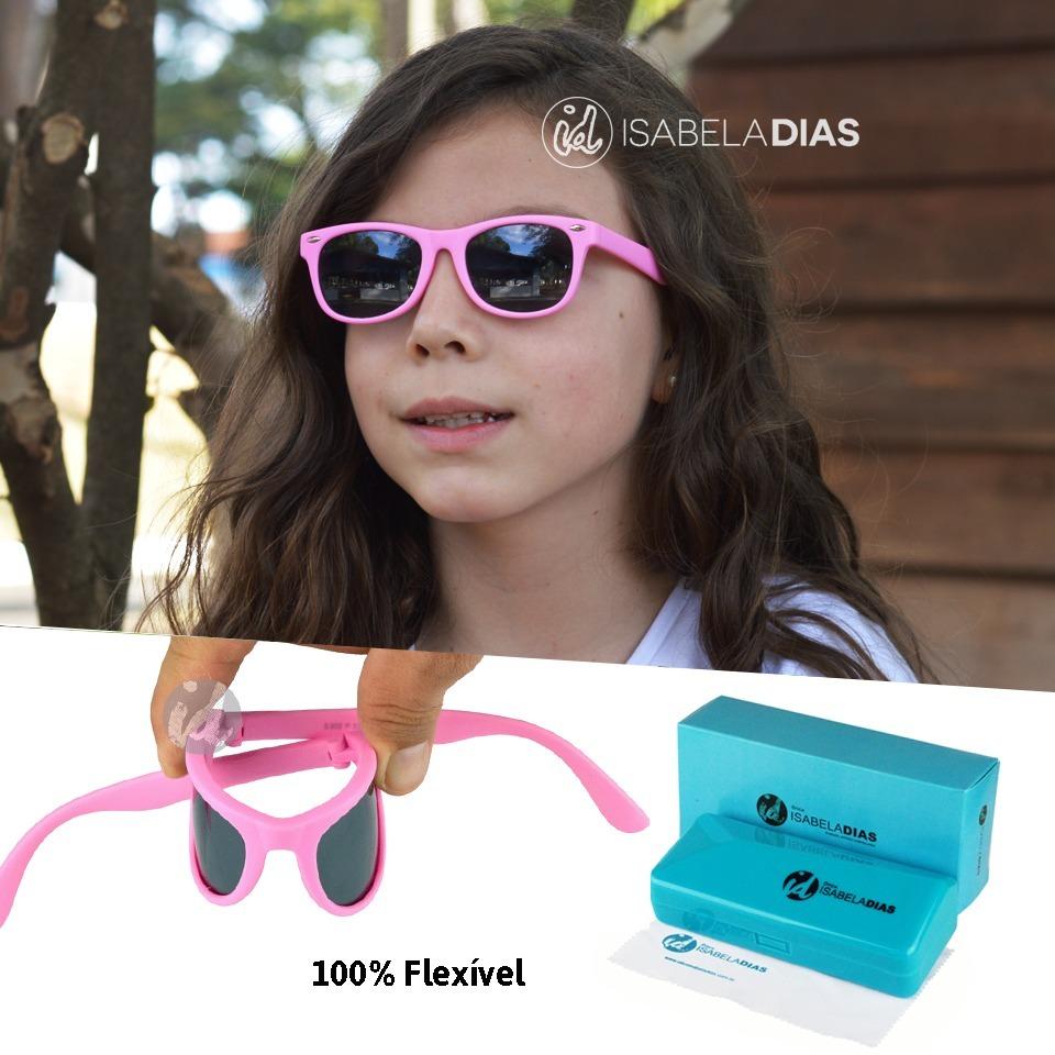 óculos sol infantil flexível não quebra criança original 228. Carregando  zoom. 6b6093a505