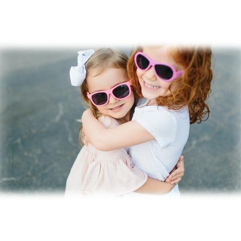 5e84182eed398 Óculos Sol Infantil Kids Babiators Navigator Rosa 3 -5 Anos - R  179 ...