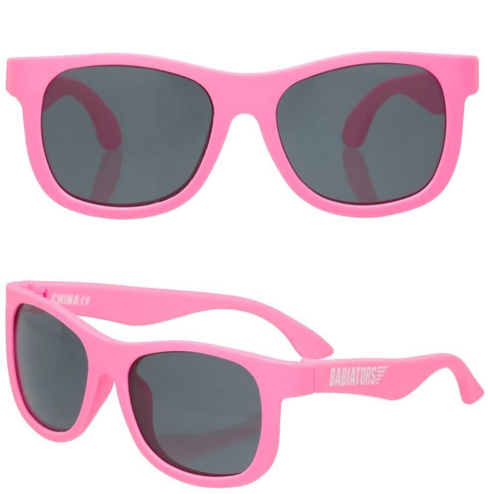 4bc1a51d0a940 óculos sol infantil kids babiators navigator rosa 3 -5 anos. Carregando  zoom.