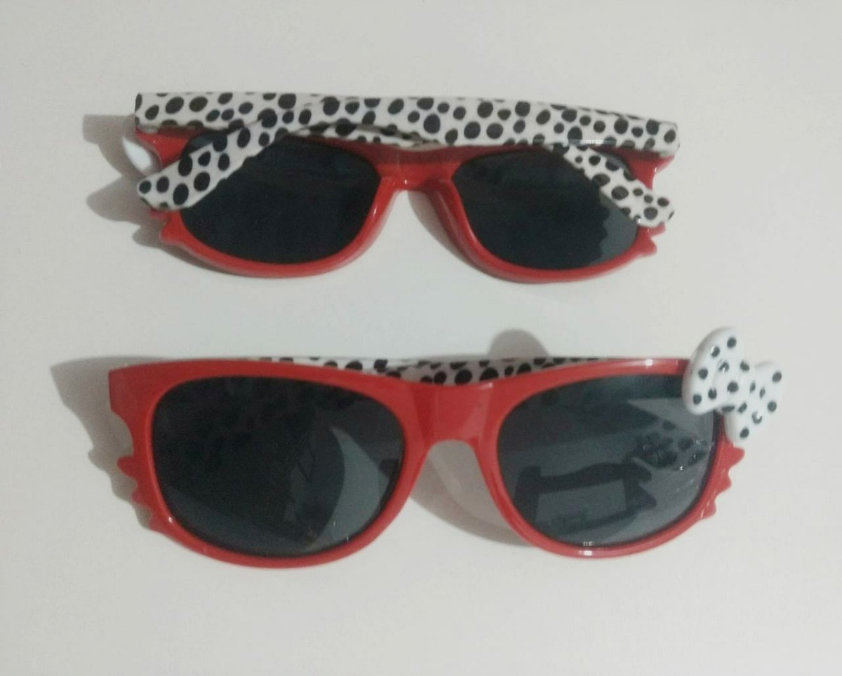 óculos sol infantil verão bebê menina gatinha kitty vermelho. Carregando  zoom. 97dec9847e