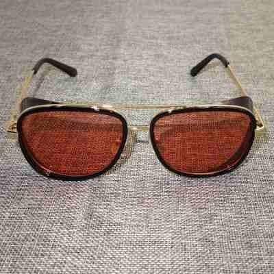 f8b840f74 Óculos Sol Iron Man Preto & Vermelho Homem De Ferro 2 Und. - R$ 158 ...
