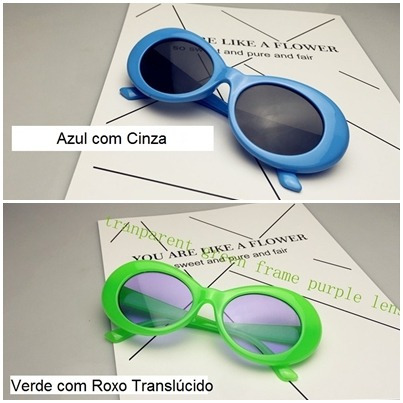 8768899147bce Oculos Sol Kurt Cobain Kit 3 Unidades Nirvana Frete Gratis - R  149 ...