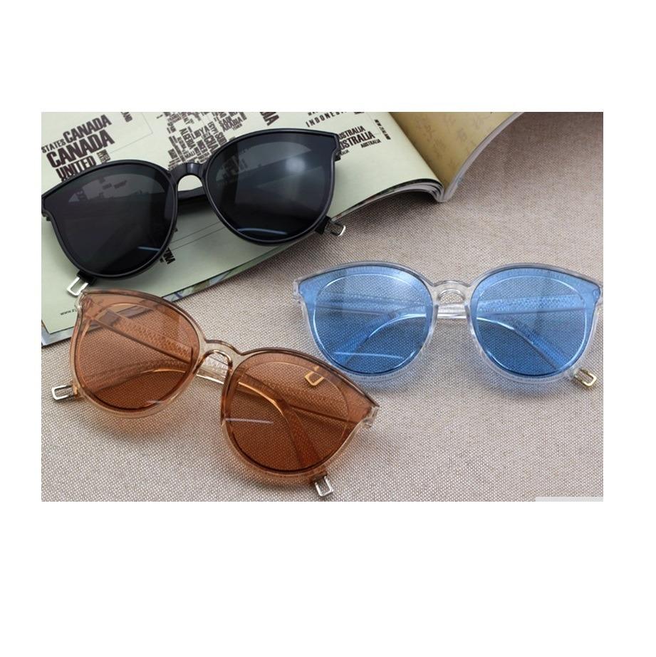 333887bb5d083 óculos sol lente colorida transparente cor marrom promoção. Carregando zoom.