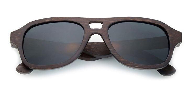 b020d4265e5d4 Óculos Sol Madeira Bambu Lentes Polarizadas Brinde Estojo - R  121,50 em  Mercado Livre