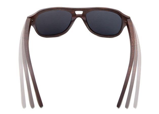 20e1d01aae662 Óculos Sol Madeira Bambu Lentes Polarizadas Brinde Estojo - R  121 ...