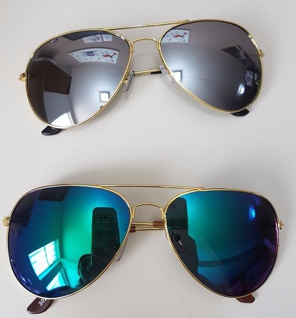 9fffe03cc5ad4 kit 5 óculos sol aviador unissex sem marca atacado revenda. Carregando  zoom... óculos sol marca