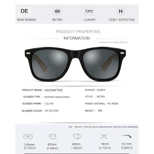640c35dad óculos sol masculino armação clássico hd preto grande barato. Carregando  zoom.
