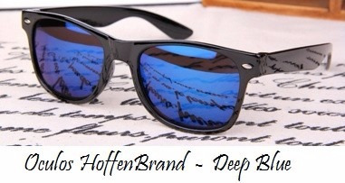 d27c1ff74 Oculos Sol Masculino Espelhado Quadrado Preto Prata Azul E + - R$ 49 ...